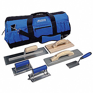 Concrete Apprentice Tool Kit,7 Pc