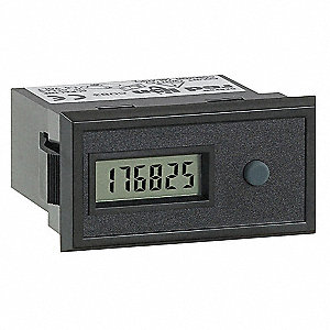 Electronic Counter, Number of Digits: 6, LCD Display, Max. Counts per Second: 100
