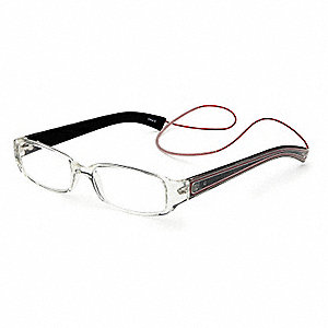 Reading Glasses,+1.5,Clear,Acrylic