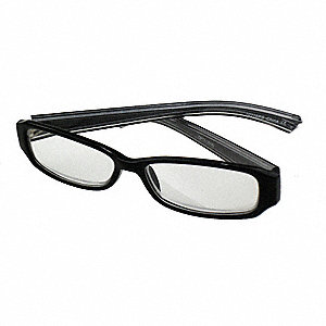 Reading Glasses,+2.5,Clear,Acrylic