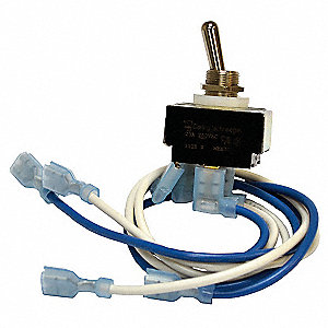 On/Off AC Line Switch Kit,For Use With Dayton Models 13E632, 13E633, 13E644, 13E645