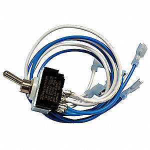 On/Off AC Line Switch Kit for 3 phase Drives,For Use With Dayton Models 13E638, 13E639, 13E640, 13E6