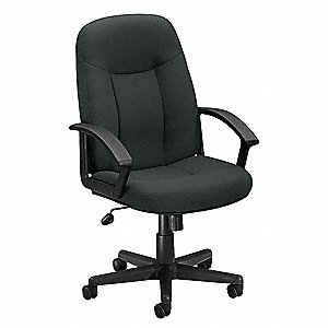 Managerial Chair,Charcoal,250 lb.