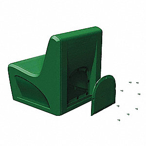 Sabre Chair,Polyethylene,Green