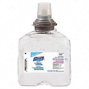 1200mL Hand Sanitizer Refill Bottle, 4 PK