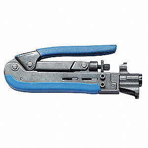 Compression Crimp Tool,,Manual,F-Type,