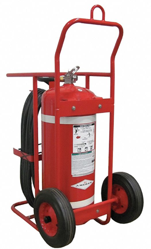 Amerex Dry Chemical Abc Class Wheeled Fire Extinguisher
