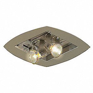 Emergency Light,25W,14-3/8In H,7In L