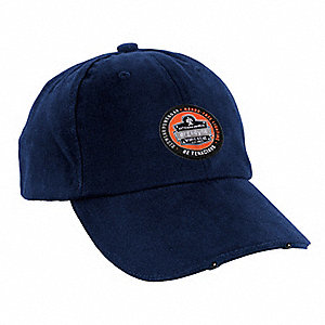 Baseball Hat,LED Lights,Navy,Universal