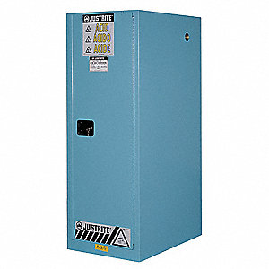 Corrosive Safety Cabinet,23-1/4 In. W
