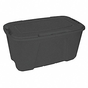 Storage Tote,18-1/2 In. H,38-1/8 In. L