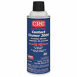 Contact Cleaner,Aerosol Can,13 oz.