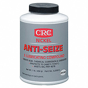Nickel Anti-Seize & Lube,16 oz.