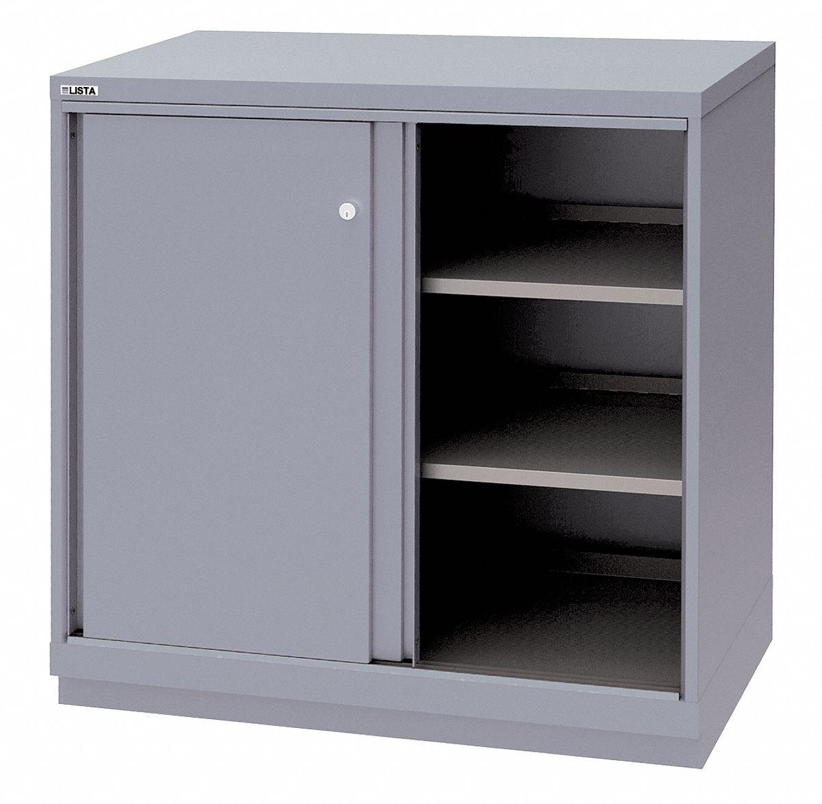 "Buy Replacement Kitchen Cabinet Doors: LISTA Base Cabinet, Sliding Doors, 40-1/4""W X 22-1/2""D X"