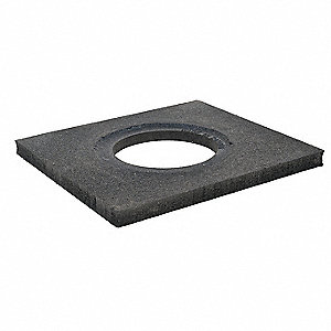 Trim Line Base,Black,10 lb.,15 In. W