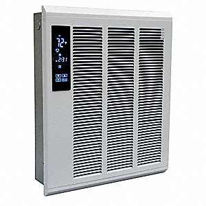 Electric Wall Heater, Recessed or Surface, Voltage 277, Watts 1800 to 4000