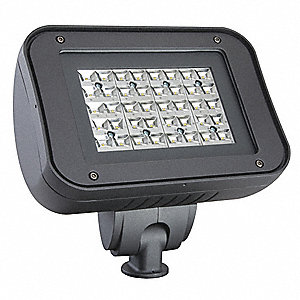 4200 Lumens LED Floodlight, Dark Bronze, LED Replacement For 100W HPS/MH