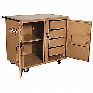 Knaack Mobile Cabinet Workbench Steel 25 Quot Depth 37 1 2