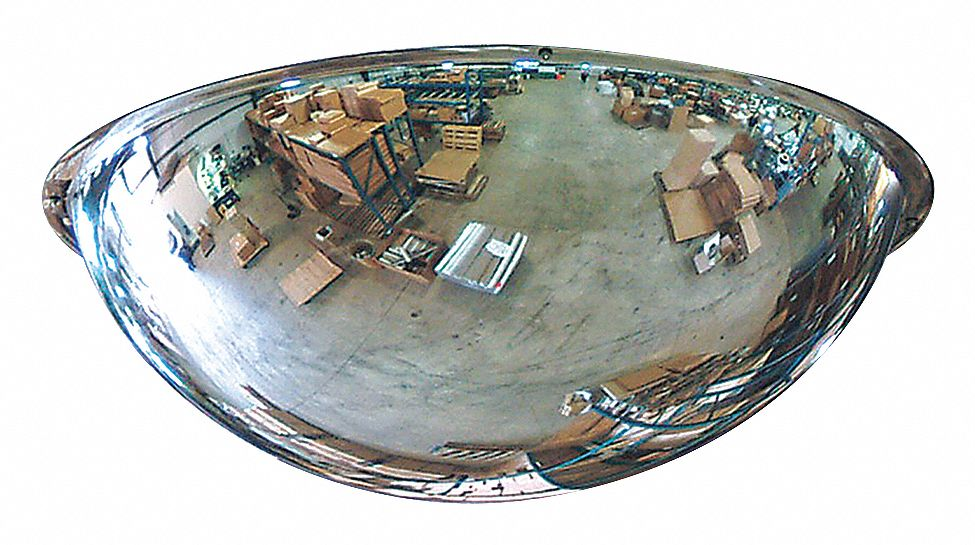Grainger Approved Indoor Acrylic Full Dome Mirror 360