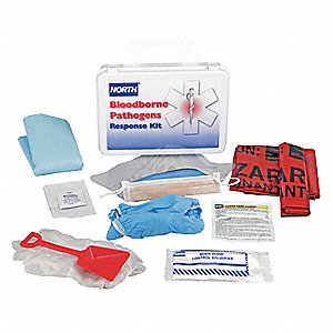Bloodborne Pathogen Response Kit,16 Unit