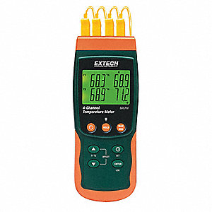 Thermocouple Thermometer,4 Input