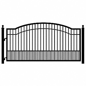 10ft Single Driveway Gate Biscayne
