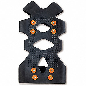 TPE Rubber Adjustable Ice Traction Device, Size 11 to 14