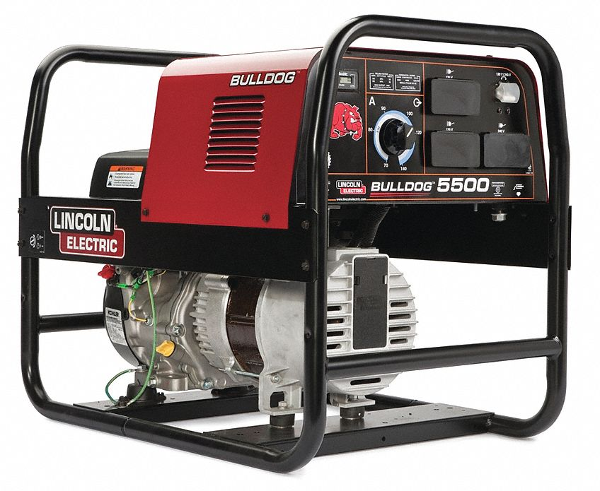 Lincoln electric engine driven welder bulldog 5500 series for Lincoln electric motors catalog