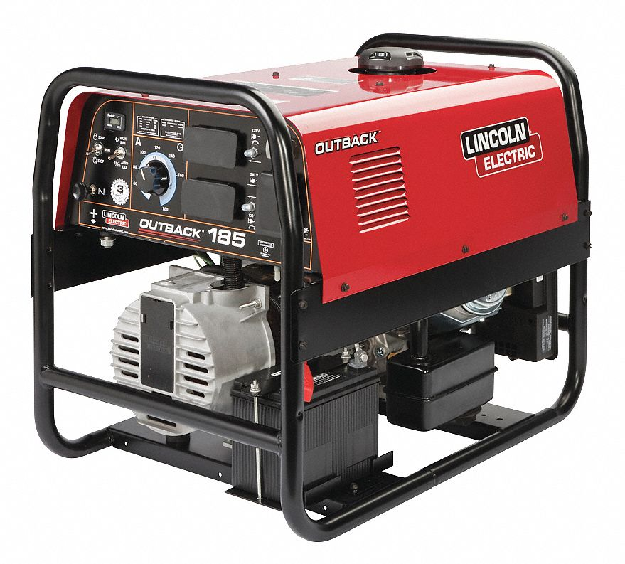Lincoln electric engine driven welder outback 185 series for Lincoln electric motors catalog