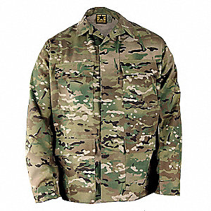 Military Coat,Multicam,Size L Reg