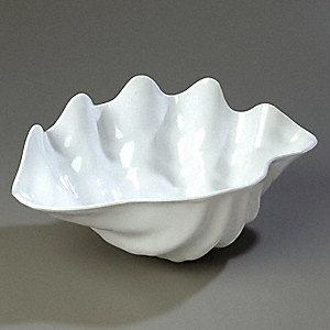 Carlisle Clam Shell Serving Bowl 5 1 4 Qt White