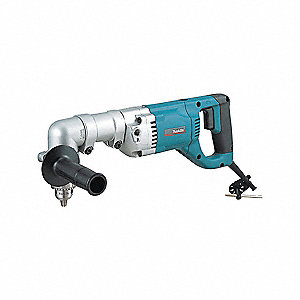 Angle Drill, 1/2 Chuck Size (In.), 0 to 400/0 to 900 Drill Speed (RPM)