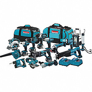 18.0 Volt Cordless Combination Kit