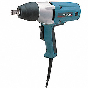 Impact Wrench,120VAC,3.5 Amps,1/2""