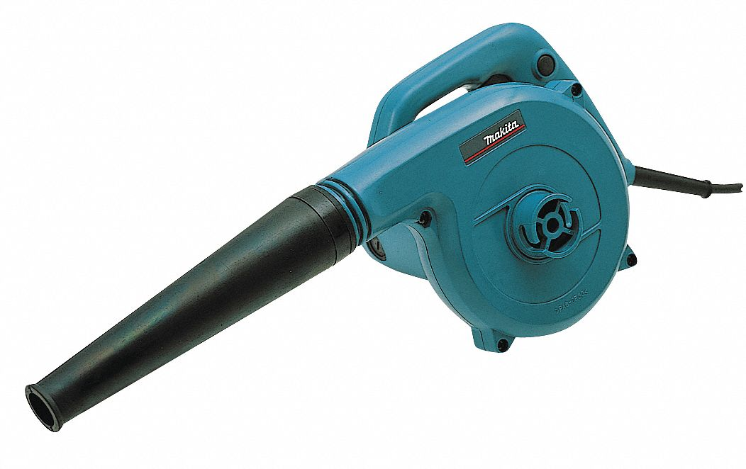 Small Electric Leaf Blowers : Makita electric handheld blower vacuum cfm mph