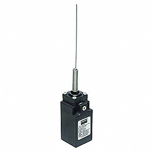 General Purpose Limit Switch, 480VAC Voltage Rating, 10 Amps, Side Actuator Location