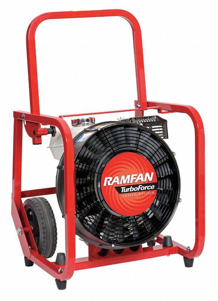 Ramfan ppv fan gas 16 in 4 8 hp 14h528 gf165 grainger for Best lubricant for electric fan motor