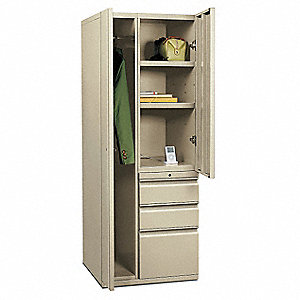 Wardrobe/Personal Storage Tower,Putty