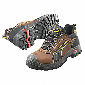 Athletic Style Work Shoes, Size 12, Toe Type: Composite, PR