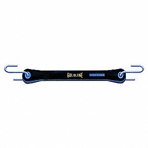 Bungee Strap,S-Hook,21 In.L,3/4 In.W