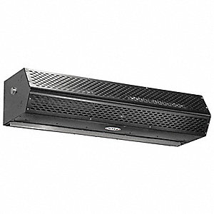 Low Profile Air Curtain, 1800 cfm, 53 dBA @ 10 Feet, Max. Door Width 6 ft., Max. Mounting Height 7 f