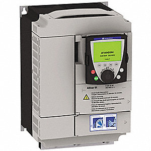 Variable Frequency Drive,7-1/2, 10 Max. HP,1 or 3 Input Phase AC,240VAC Input Voltage