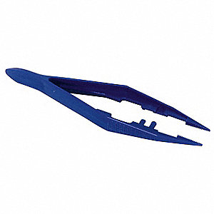 Tweezer,Plastic,4-1/2 In.