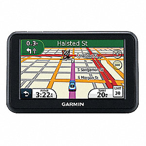GPS Navigator,Touchscreen,4.3 In.