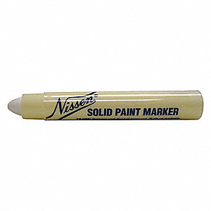 Paint Crayon,5/16 In.,White
