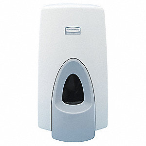 Soap Dispenser,800mL,White,PK10
