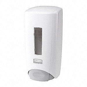 Soap Dispenser,1300mL,White,PK10