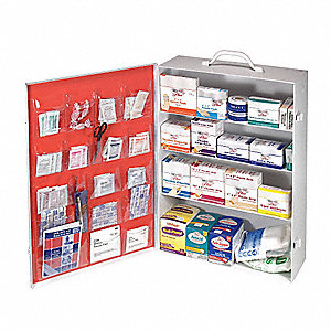 First Aid Kit,Unitized,615Pcs,150 Ppl