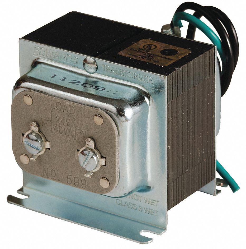 Edwards Signaling Class 2 Transformer  Input Voltage