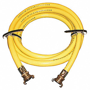 Inflation Hose,Yellow,16.4 Ft